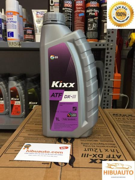 Dầu số tự động Kixx ATF DX III – 1L