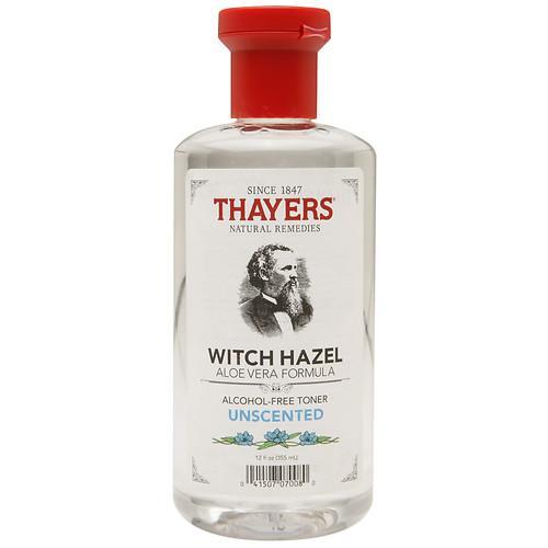 Nước Hoa Hồng Không Cồn Thayers Unscented Witch Hazel Toner (Alcohol-Free) cho da nhạy cảm