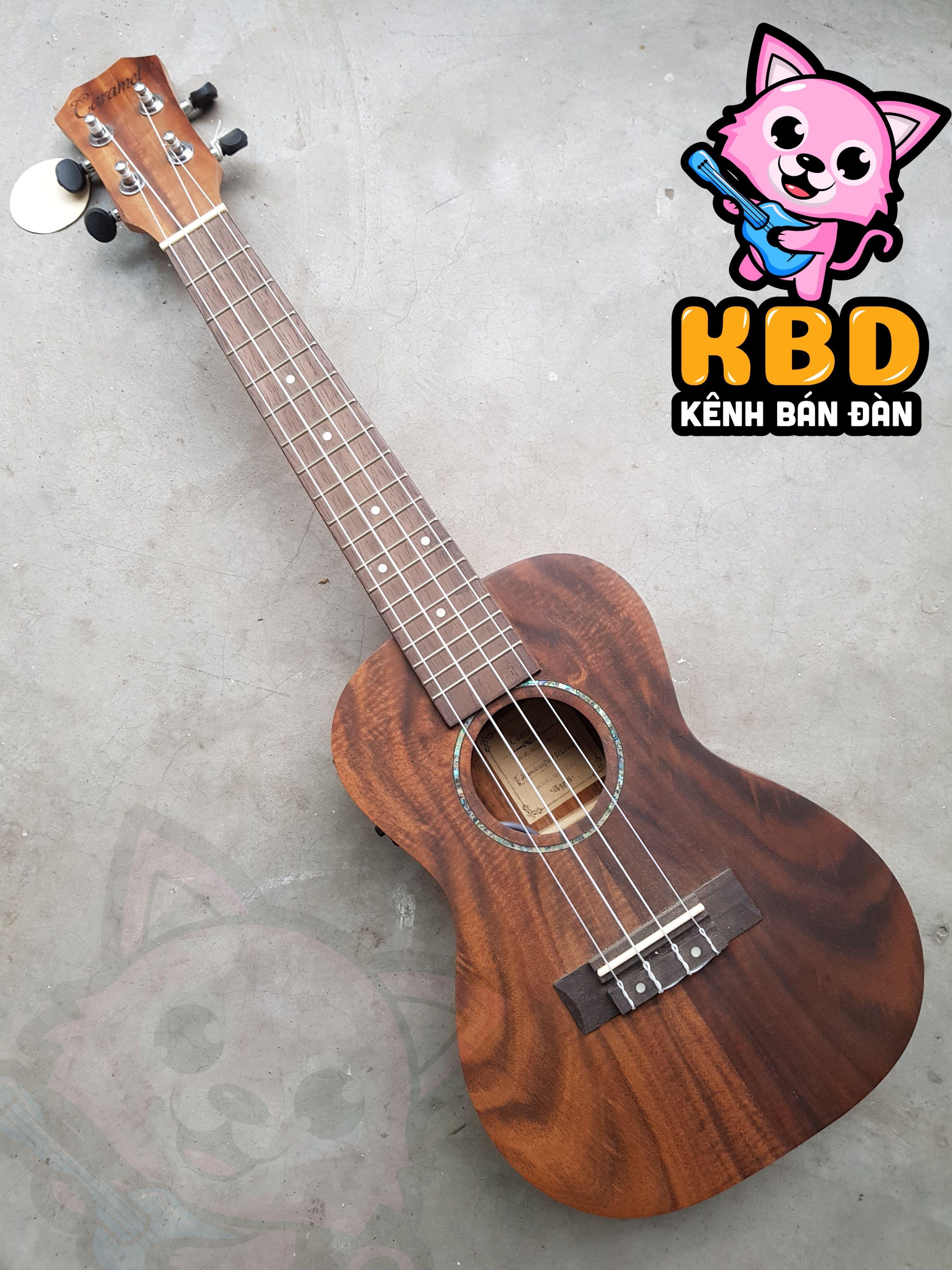 Đàn ukulele Concert cao cấp Caramel KBD có EQ