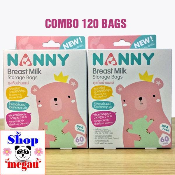 Cửa Hàng 120 Tui Trữ Sữa Nanny Thai Lan Cao Cấp Việt Nam