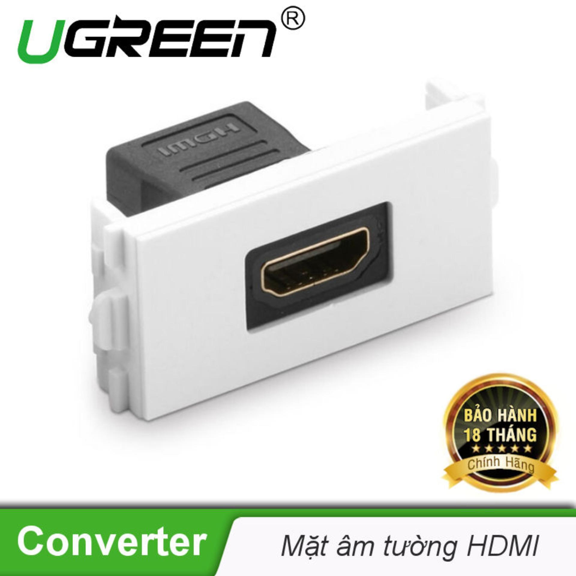 Đế HDMI âm tường UGREEN MM113 20317 - Hãng phân phối chính thức