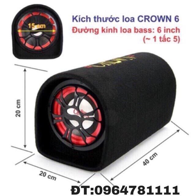 Ôn Tập Tốt Nhất Loa Crown Số 6 Tron