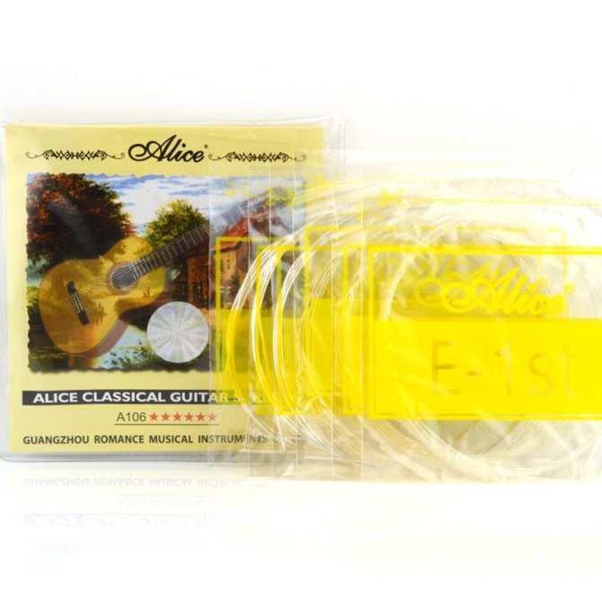 Mã Giảm Giá tại Lazada cho Dây đàn Guitar Classic Alice A106 (Dây Nylon) - HappyLive Shop