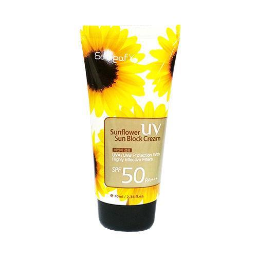 Kem Chống Nắng Soleaf Sunflower UV Sunblock Cream SPF 50 PA +++ tốt nhất