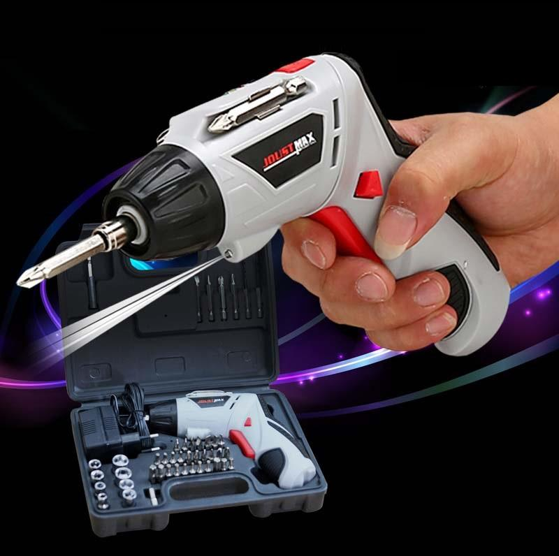 Bộ máy khoan và vặn ốc vít đa năng có sạc tích điện Joust Max (Trắng)