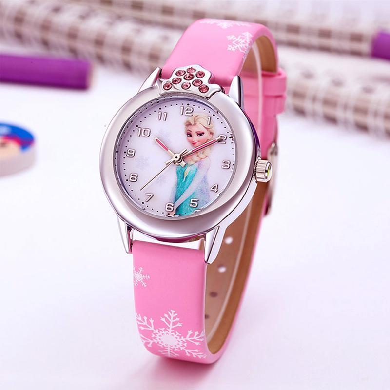 Đồng hồ elsa đeo tay cho bé gái bán chạy