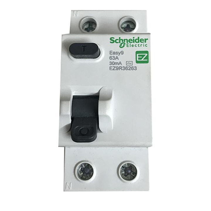 Cầu dao chống giật - Aptomat chống rò dòng Schneider 63A cao cấp