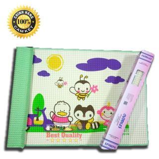 ( HÀNG LOẠI 1 ) Tấm lót chống thấm cho bé Cuddles NHẬP KHẨU MALAYSIA - Miếng thảm nằm chơi cho trẻ - Nệm hơi khí cho bé thumbnail