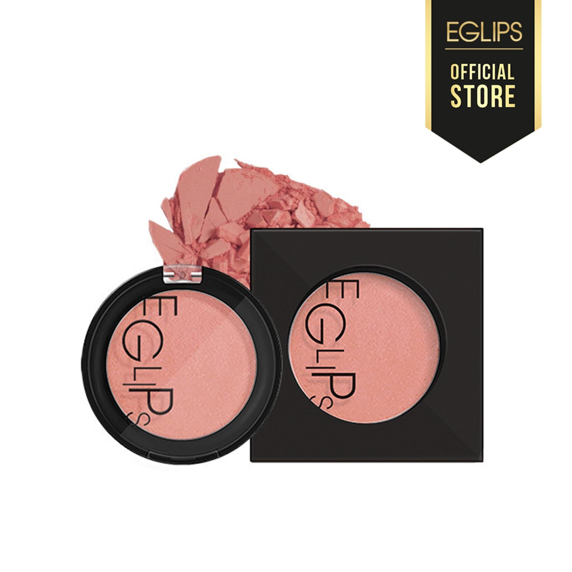 Phấn Má Eglips Apple Fit Blusher - 08 Sand Pink (Màu hồng nude) tốt nhất
