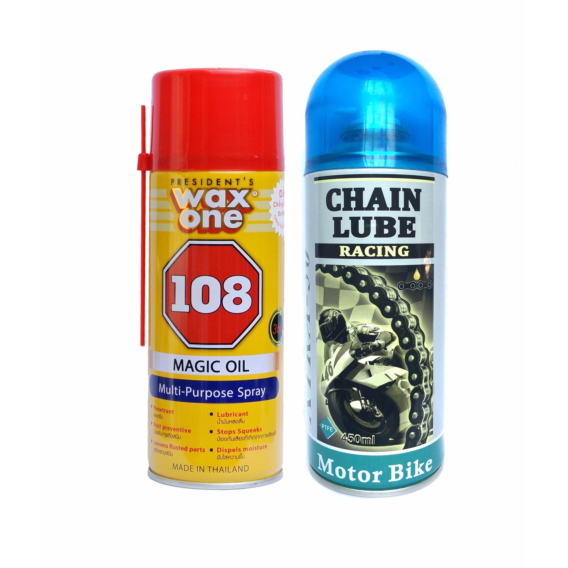 Ôn Tập Combo Dầu Chống Rỉ Set Wax One 400Ml Va Chai Xịt Boi Trơn Bảo Dưỡng Sen Chain Lube Xtra 50 Hồ Chí Minh