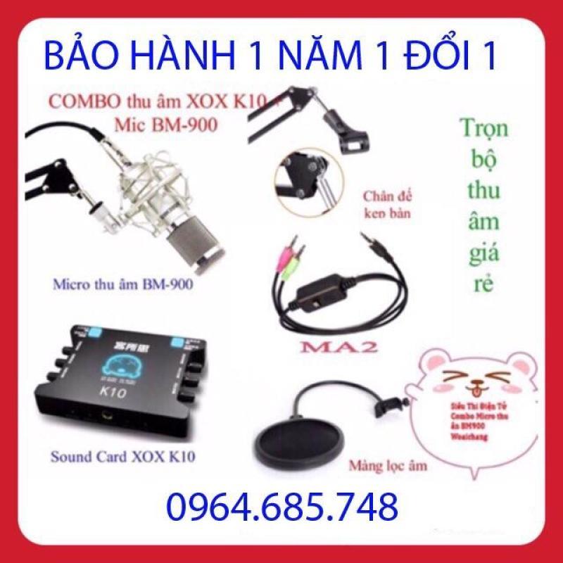Combo Bm900 K10 Full phụ kiện