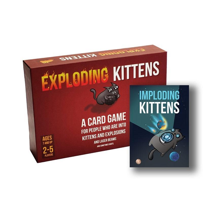 Hình ảnh Combo mèo nổ Đỏ + Bản mở rộng Imploading (Mèo nổ chậm)