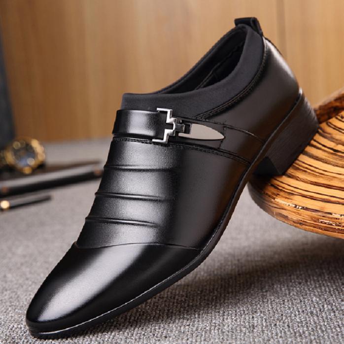 Giày Tây Nam Tăng Chiều Cao ADORA (đen) - GN265 Đang Ưu Đãi Giá