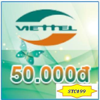 Thẻ Cào Viettel 50k By Shop Thẻ Cào 499.