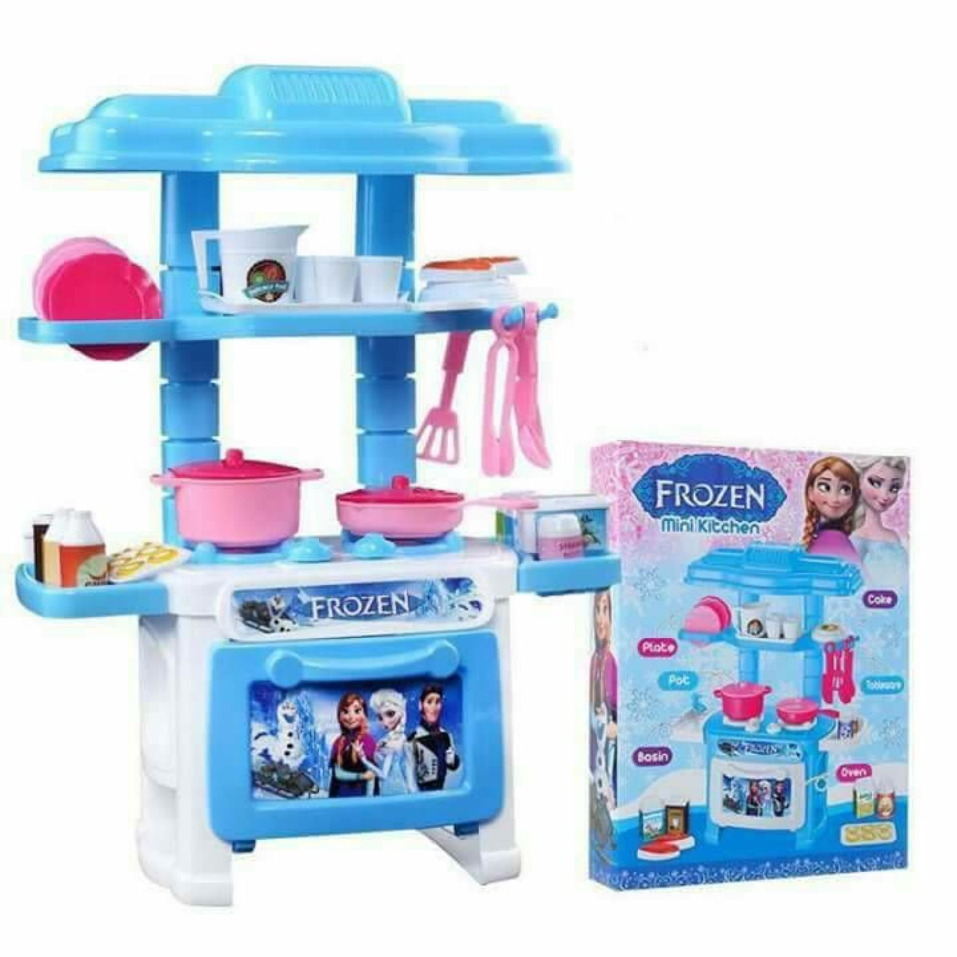 Hình ảnh Bộ đồ chơi nấu ăn trẻ em giá rẻ phát triển trí tuệ cho bé (Màu ngẫu nhiên)
