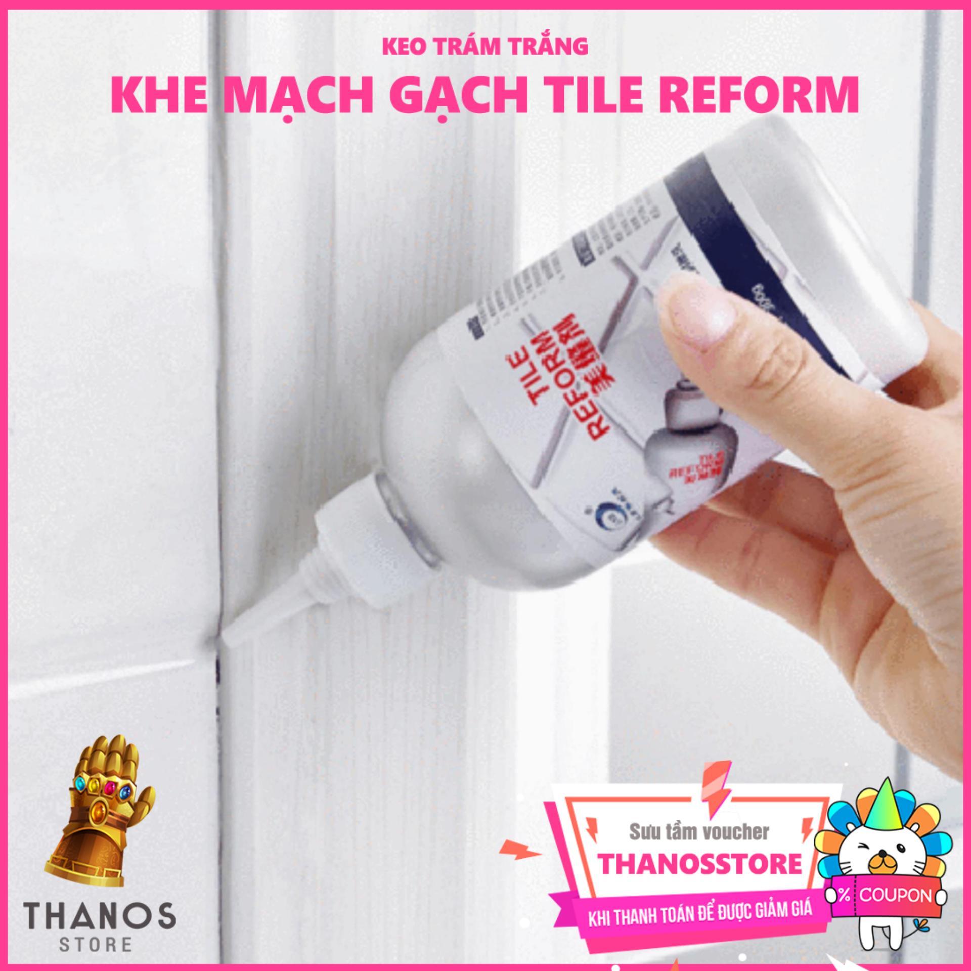 Hình ảnh Keo trám trắng khe mạch gạch Tile Reform - Thanos Store