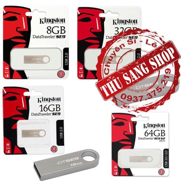 Giá [SALE] USB Kingston SE9 chống nước từ 4GB đến 64GB Bảo hành 2 Năm