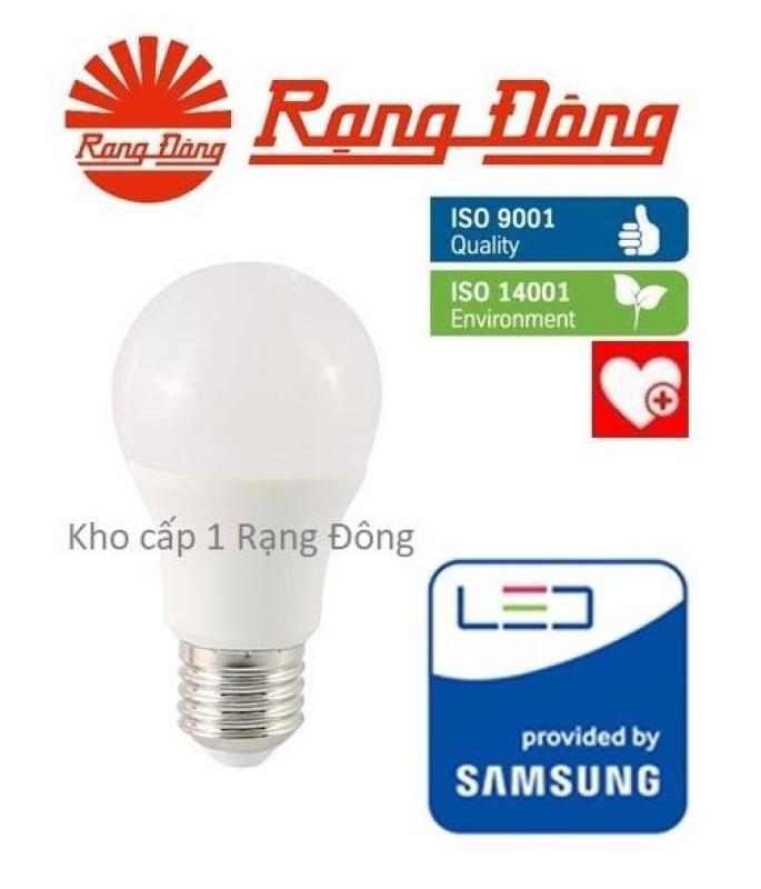 [Lấy mã giảm thêm 30%]Bóng đèn LED bulb 5W Rạng Đông - SAMSUNG ChipLED Mới