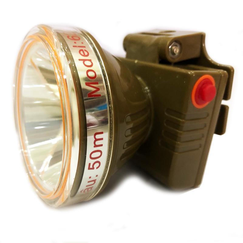 đèn đeo đầu lặn nước 50m cao cấp ánh sáng trắng (BH 3 tháng)
