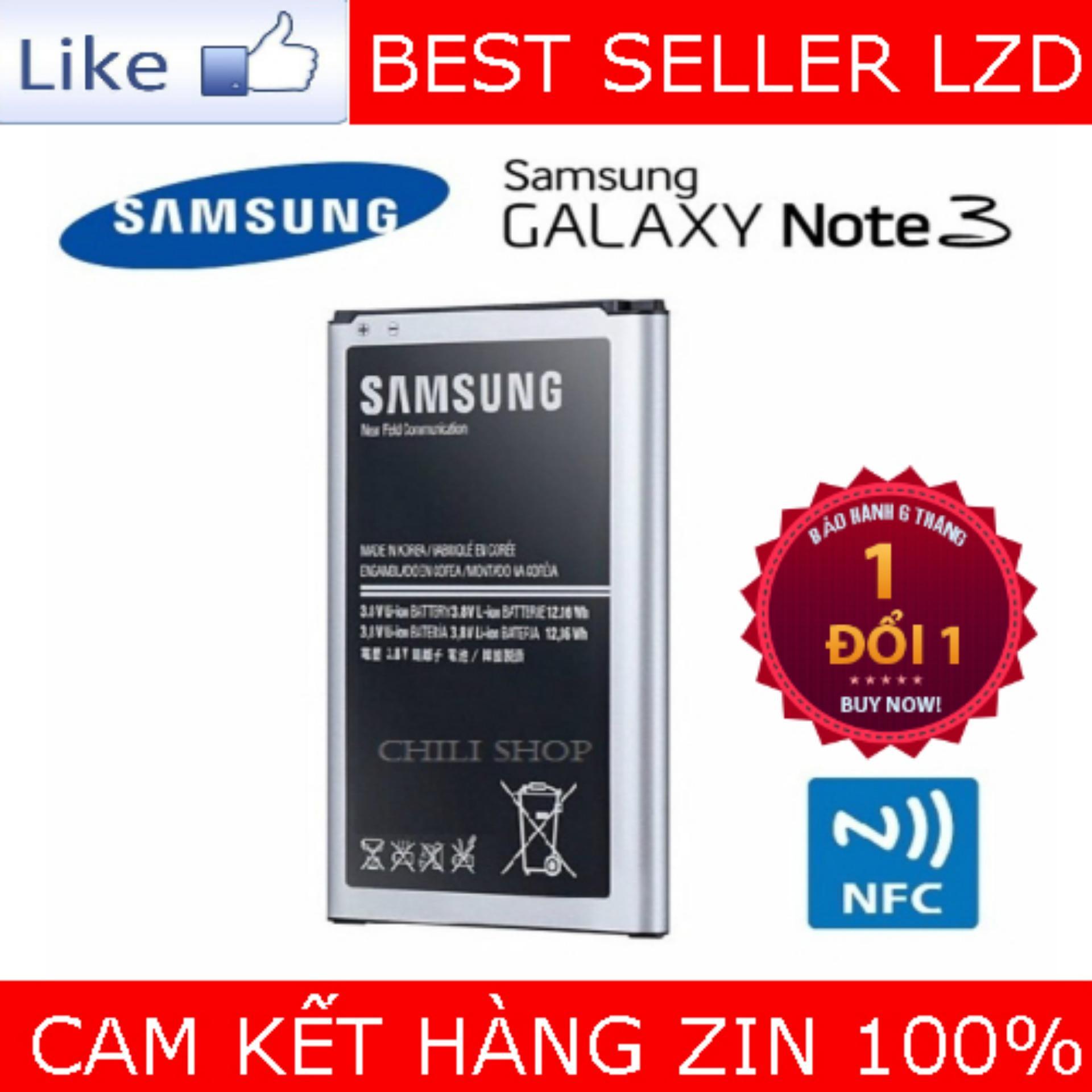 Giá Bán Pin Cho Samsung Galaxy Note 3 3200Mah Oem Nguyên