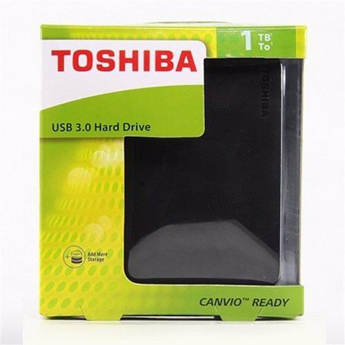 Hình ảnh ổ cứng di động TOSHIBA Canvio Basic 1TB và 2TB USB 3.0