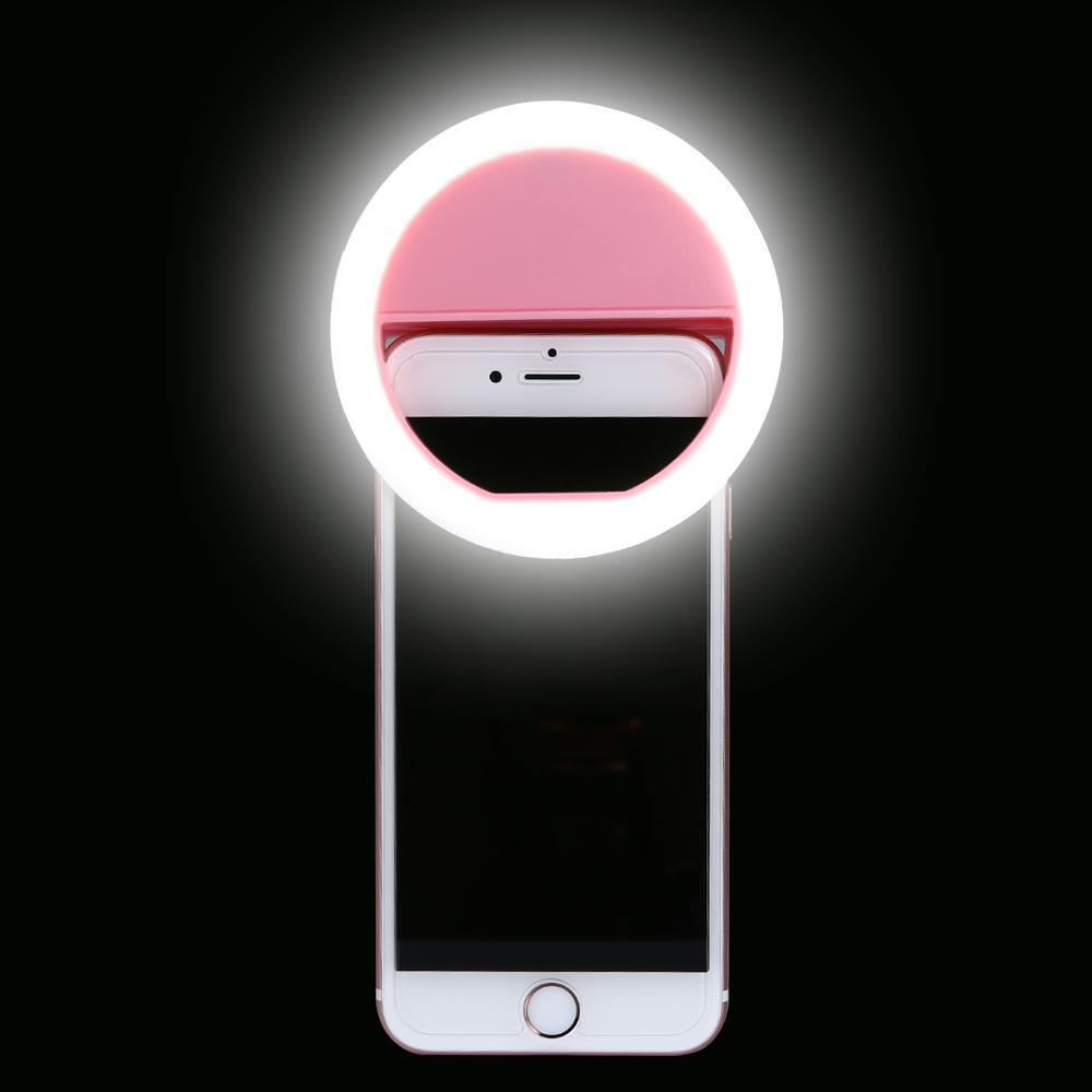 Hình ảnh Đèn LED kẹp điện thoại hỗ trợ chụp hình Selfie