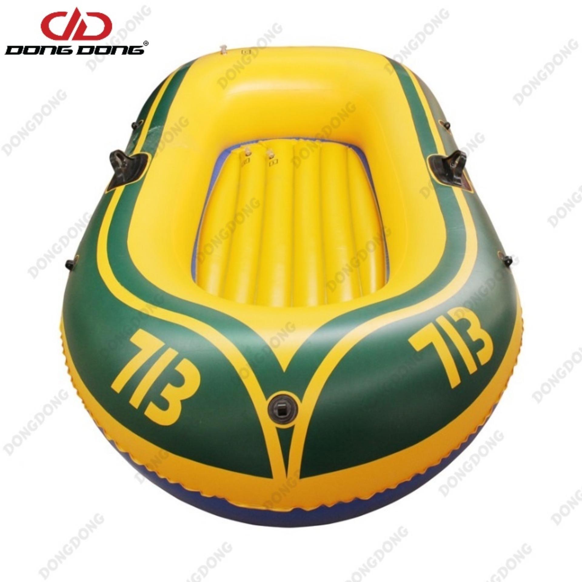 Hình ảnh Thuyền phao Kayak 713 cho 2 người, thuyền bơm hơi đi câu cá gấp gọn tiện lợi, chất liệu cao cấp - DONGDONG