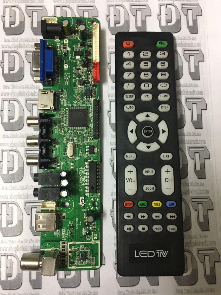 Hình ảnh Bo Tivi đa năng V59 (có HDMI) nạp FW tự động thế hệ mới