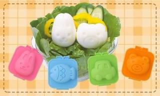 combo 6 khuôn nặn cơm, khuôn nặn trứng hình dễ thương thumbnail