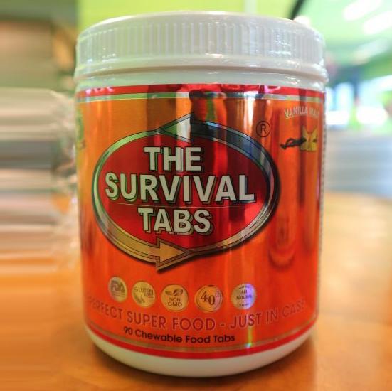 Survival Tabs – Thực Phẩm Sinh Tồn 90 viên