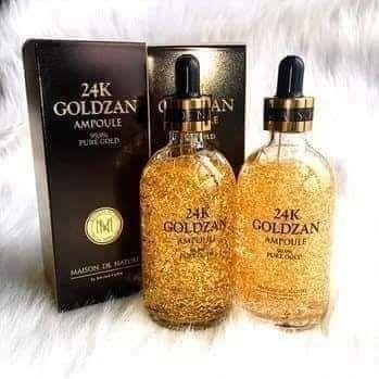 Tinh Chất dưỡng trắng da chống lão hóa 24k Goldzan