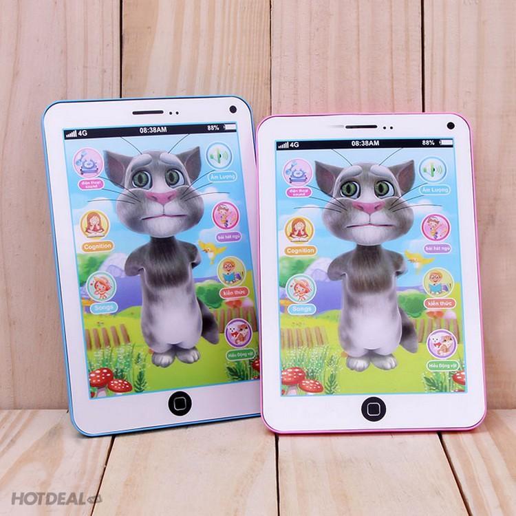Hình ảnh Bộ 2 iPad Mèo Tom thông minh: Biết hát, kể chuyện, thơ...