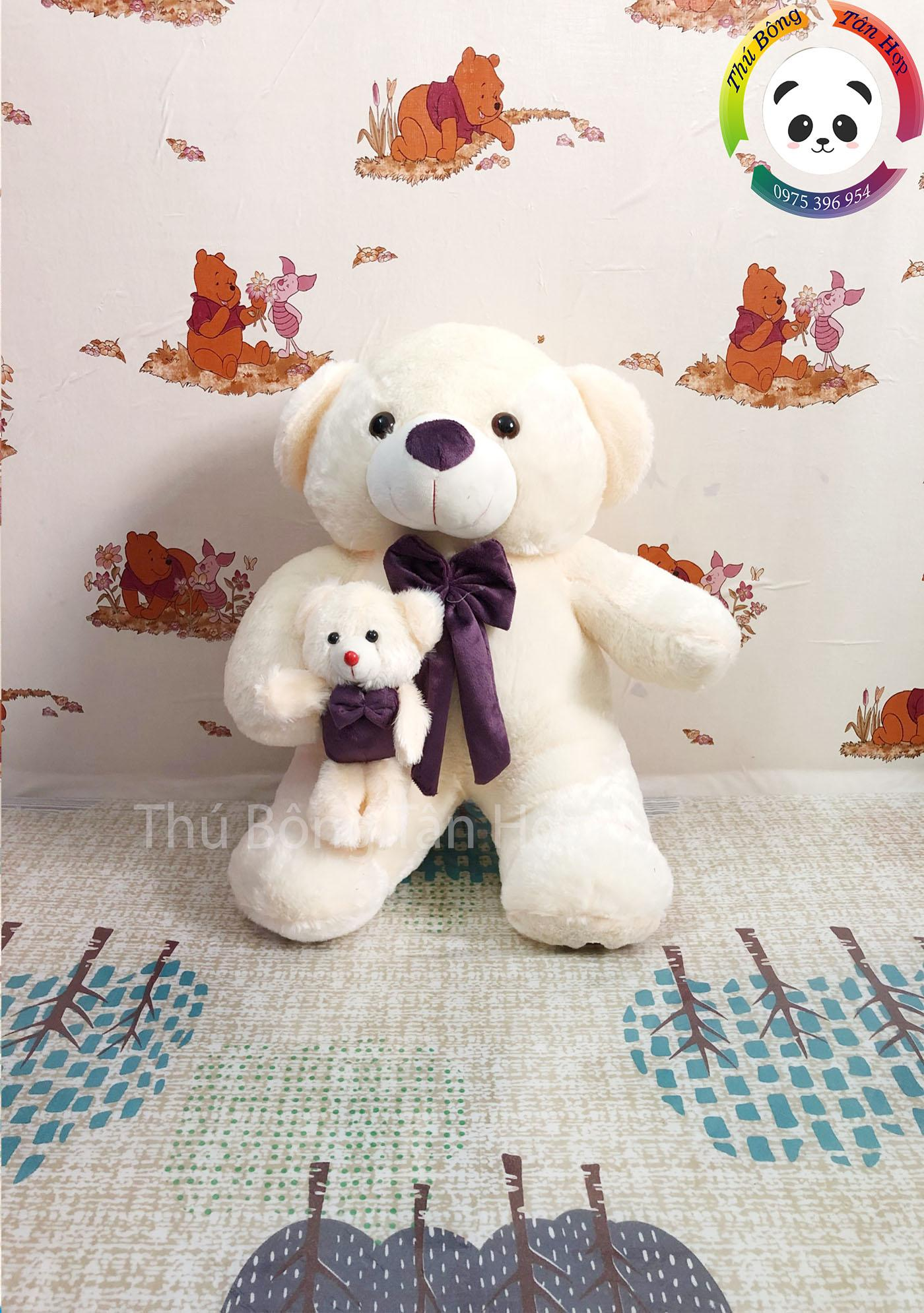 Hình ảnh Gấu mẹ con 50cm