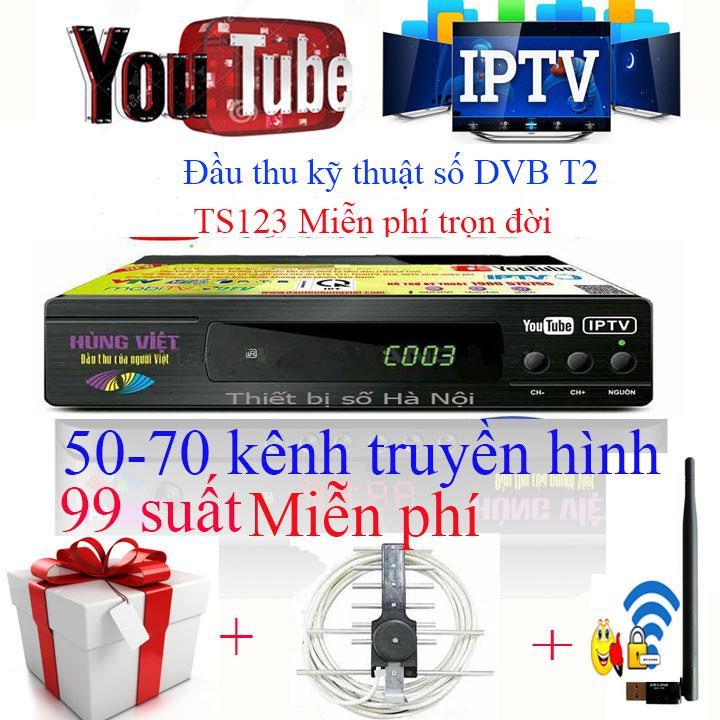 Hình ảnh Đầu thu kỹ thuật số DVB T2 TS123 Chức năng xem Youtube,IPTV 2018