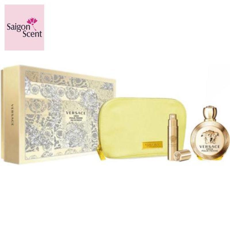 Giftset Versace Eros Pour Femme Eau de Parfum