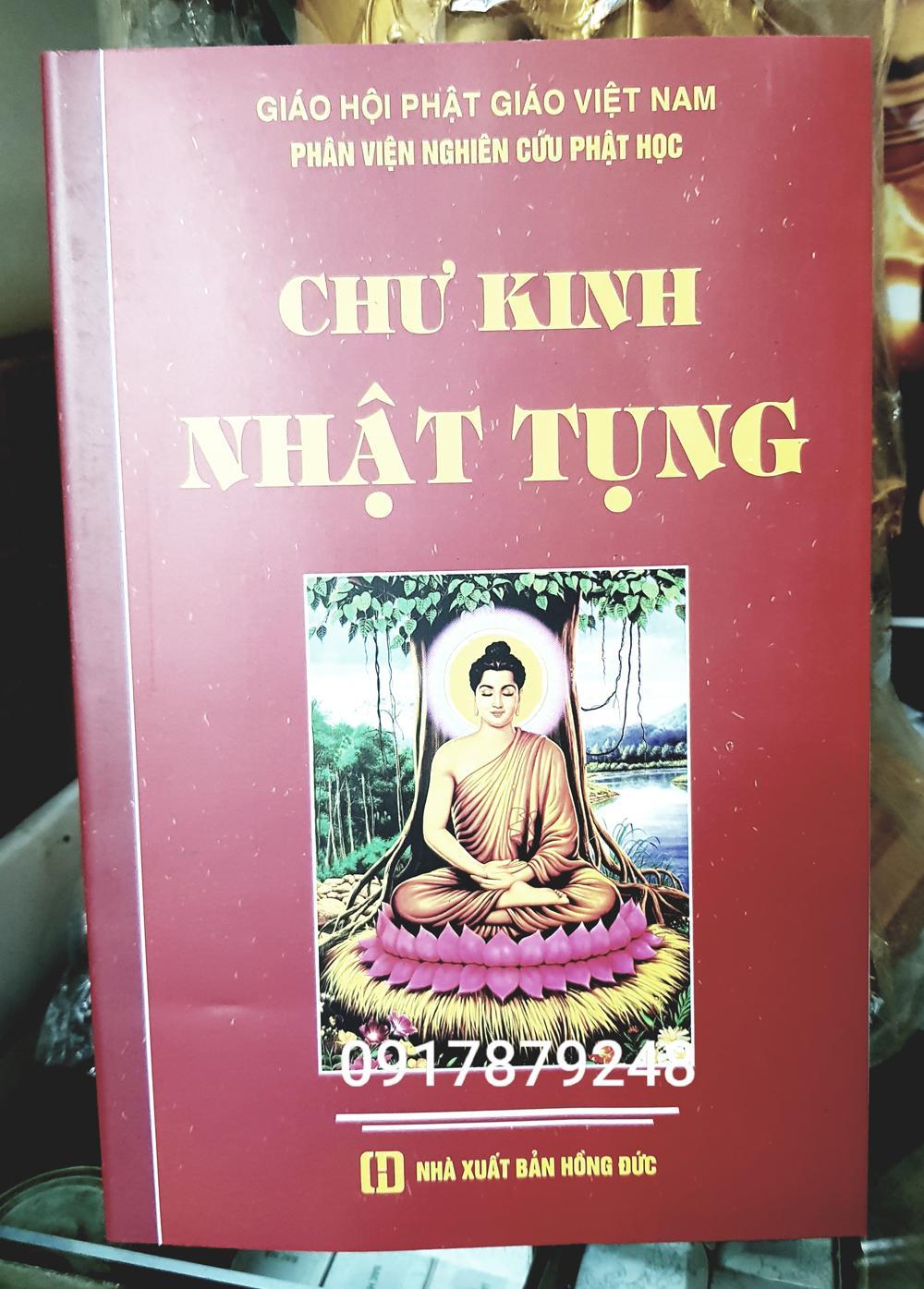 Mua Sách Chư Kinh Nhật Tụng- âm Hán Việt