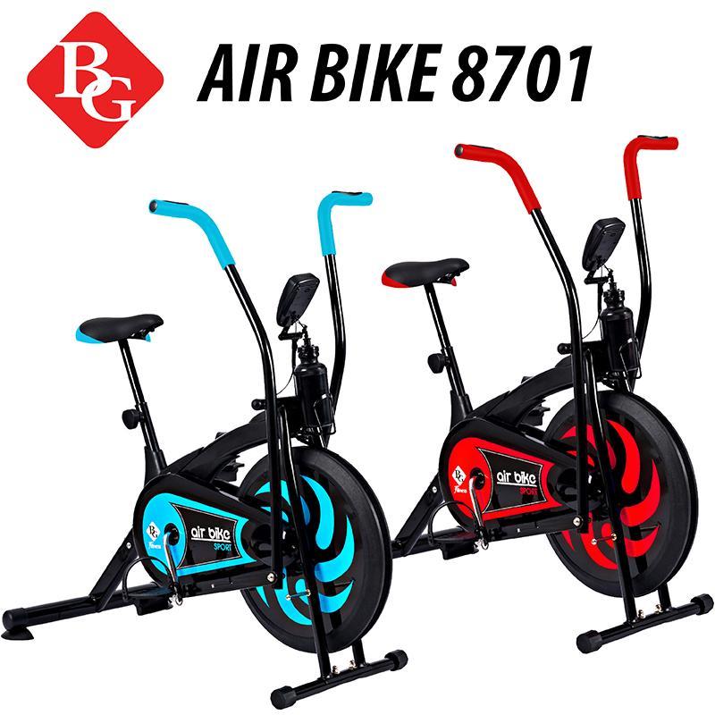Hình ảnh BG - Xe đạp tập thể dục Air bike thiết kế hoàn toàn mới (Red)