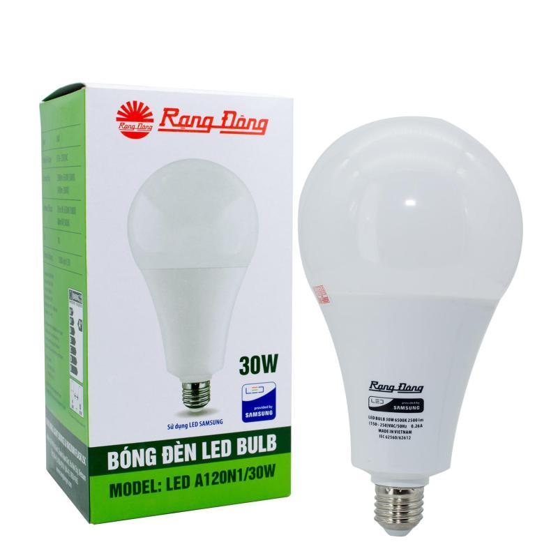 Bộ 2 Bóng đèn Led Bulb Rạng Đông A120N1/30W