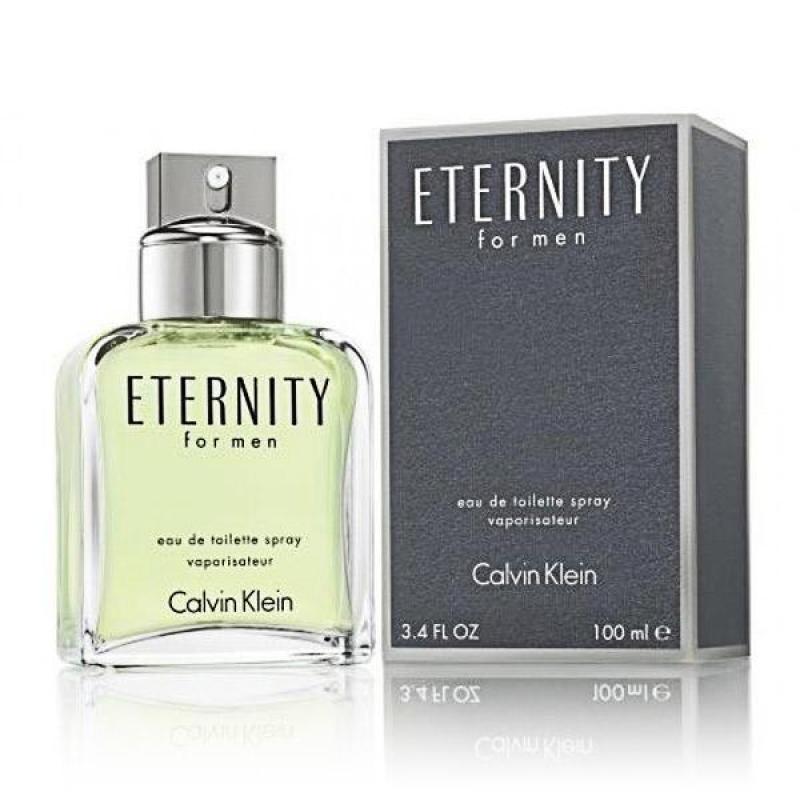 Nước hoa CK ETERNITY FOR MEN EDT SPRAY 100 ml
