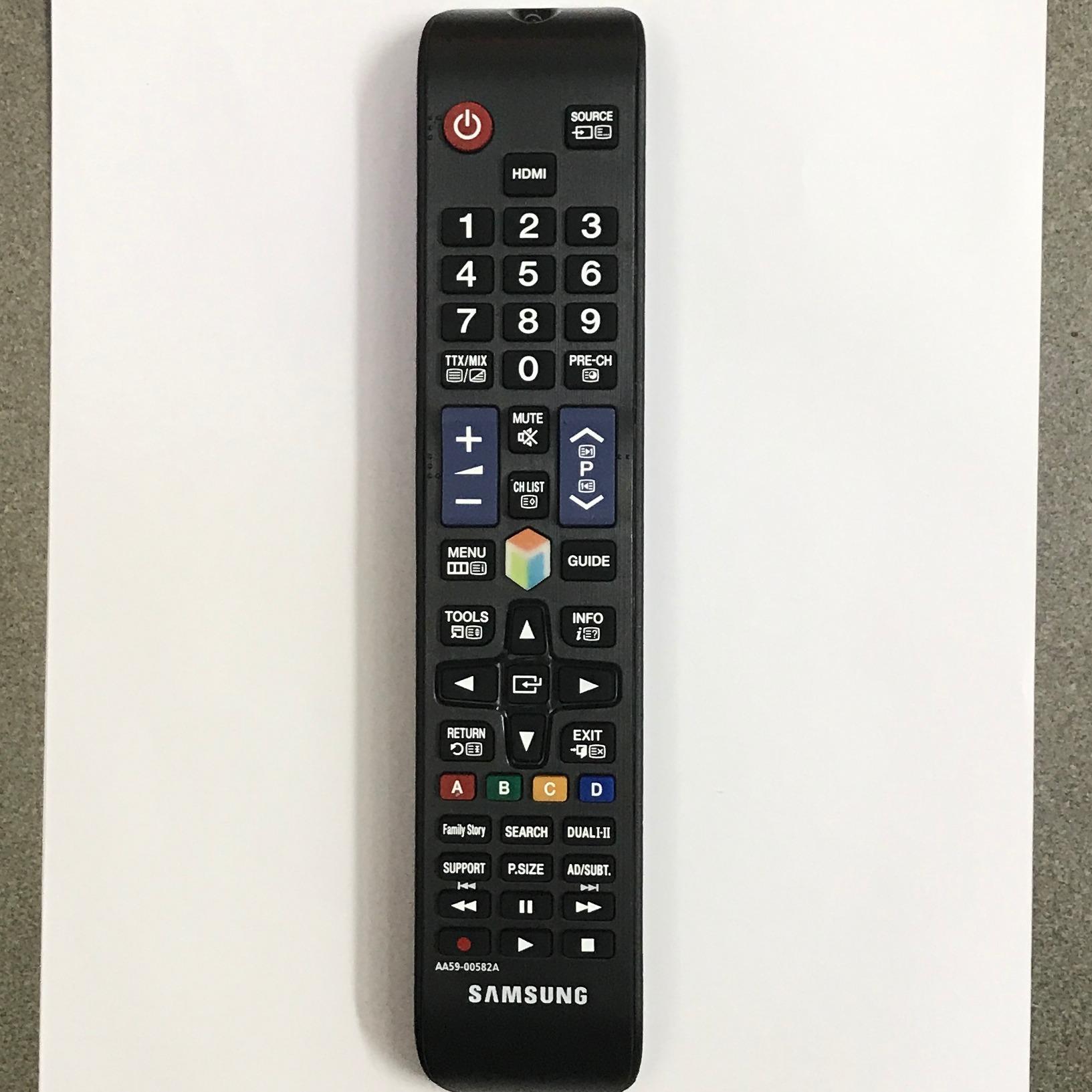 Bán Điều Khiển Tivi Samsung Smart Đen Hà Nội