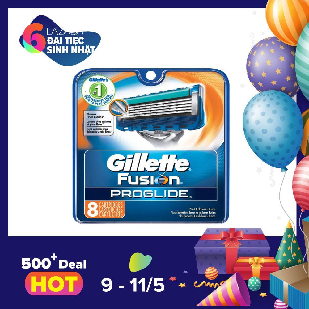 Ôn Tập Vỉ 8 Lưỡi Dao Cạo Rau Gillette Fusion Proglide 5 1