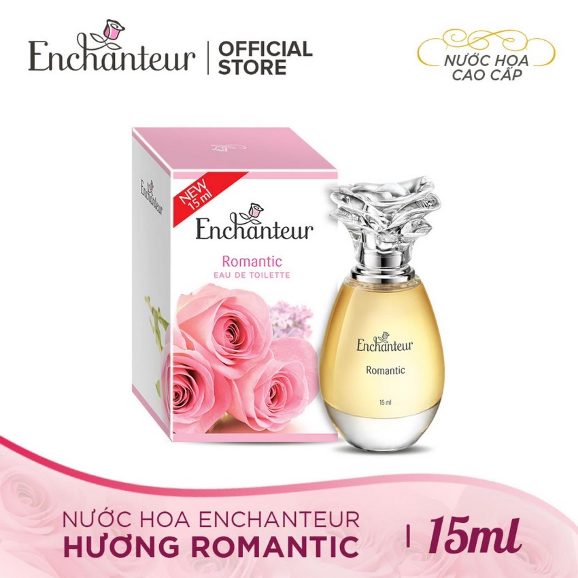 Enchanteur nước hoa cao cấp Romantic 15ml