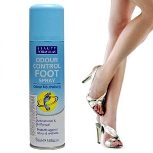 Xịt khử mùi chân Beauty Formulas - chai 150ml