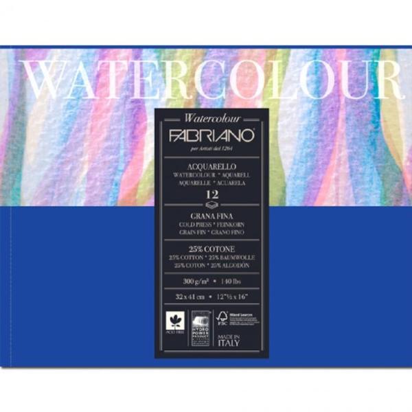 Mua Sổ vẽ màu nước Fabriano, Ý, gáy dính A3, 300gsm