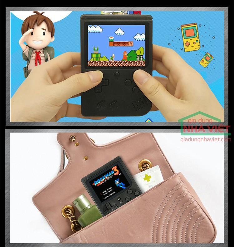 Hình ảnh Máy chơi game cầm tay Retro FC chơi điện tử 4 nút Nintendo NES