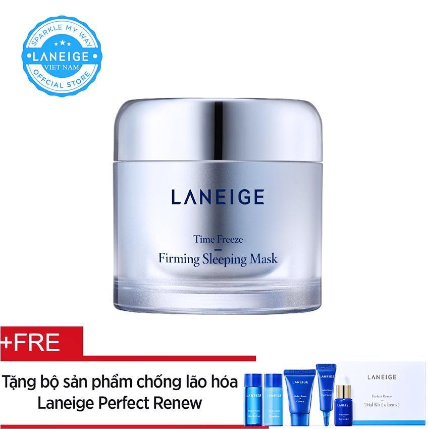 Giá Bán Mặt Nạ Ngủ Ngăn Ngừa Lao Hoa Laneige Time Freeze Firming Sleeping Mask 60Ml Tặng Bộ Sản Phẩm Chống Lao Hoa Perfect Renew Nguyên Laneige