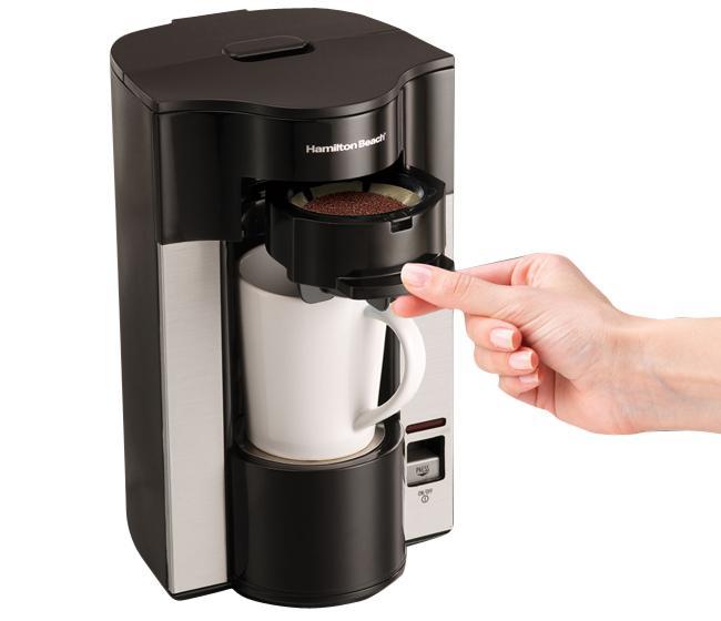 Máy pha cà phê Hamilton Beach 49993-IN (Đen)