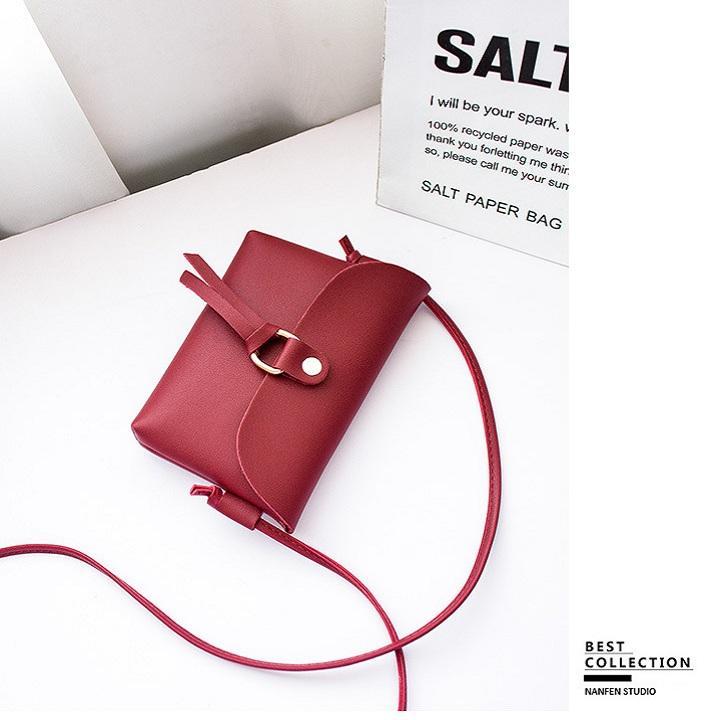 Túi đeo chéo nữ mini đựng điện thoại cực xinh, cực phong cách. Nhật Bản
