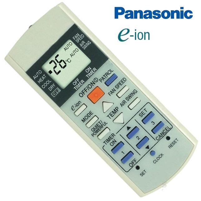 Điều khiển dành cho điều hòa Panasonic E-ion