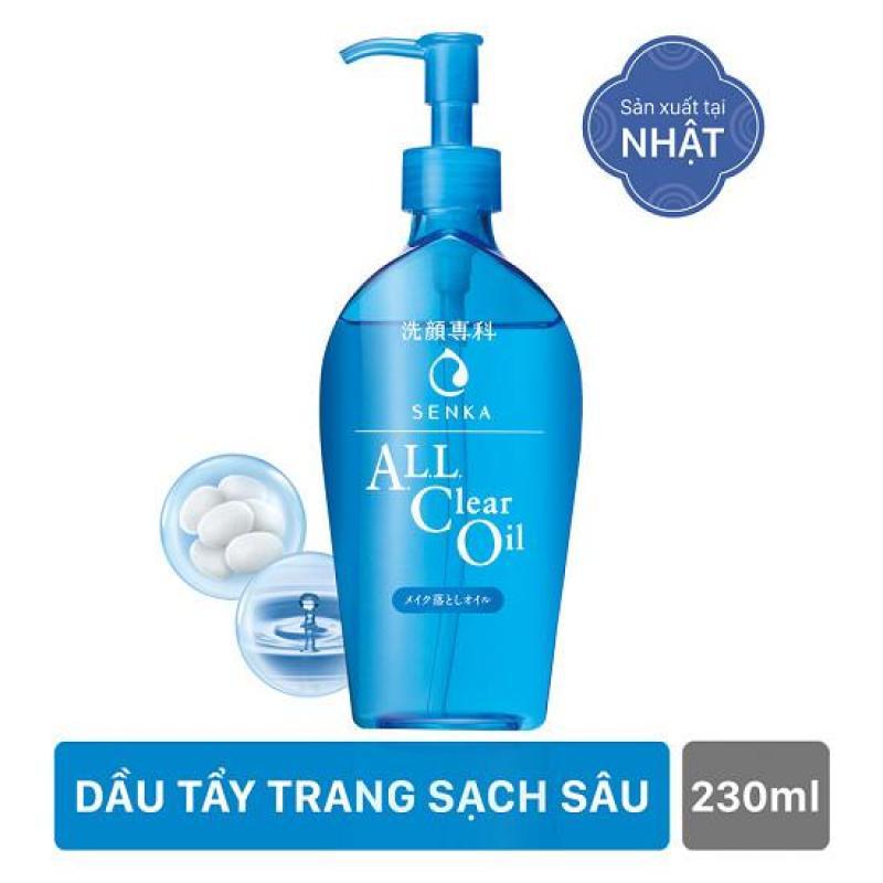 Dầu Tẩy Trang Sạch Sâu Dành Cho Da Dầu Senka All Clear Oil 230ml cao cấp